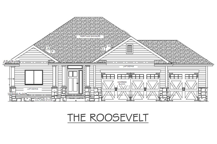 The Roosevelt Elevation View
